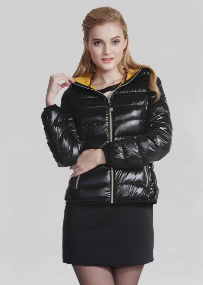 专业批发威伦蒂女装羽绒服 秋冬季新款女士短款可拆卸休闲羽绒服