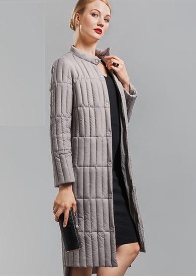 2016威伦蒂新款长款轻薄羽绒服