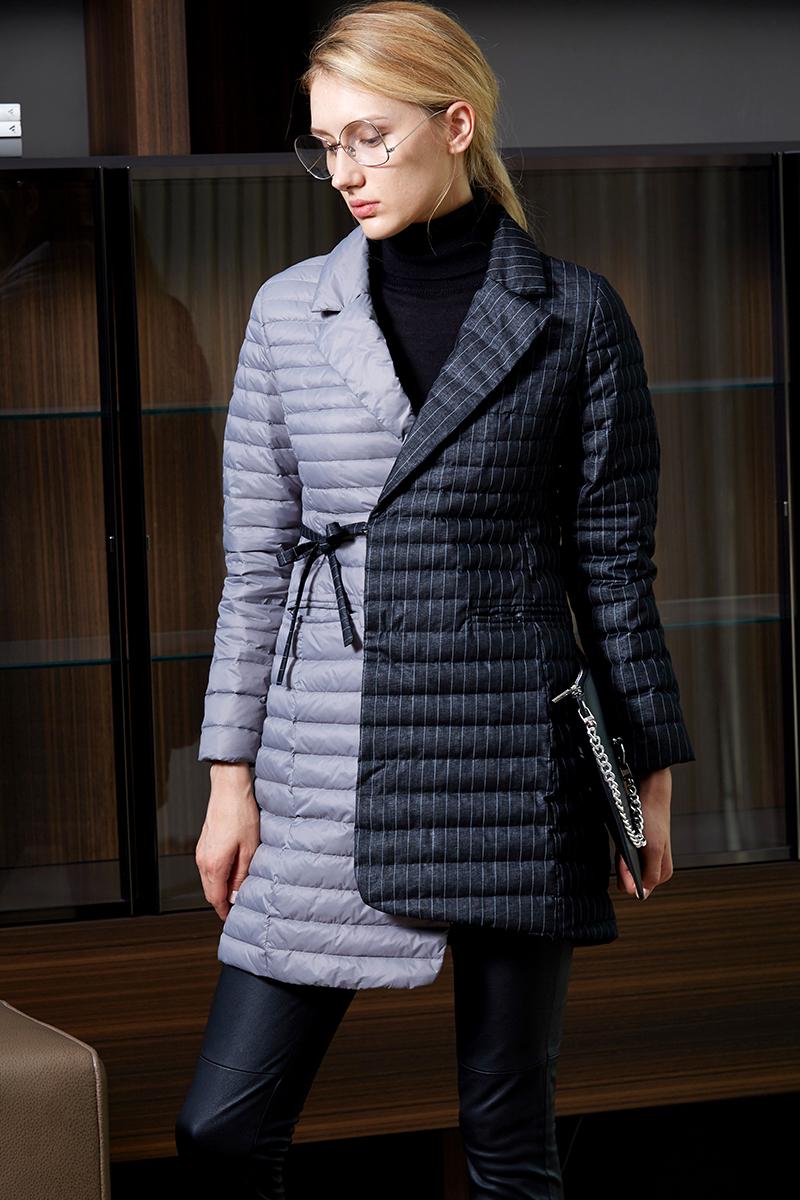 2017威伦蒂时尚新款白鸭绒羽绒服