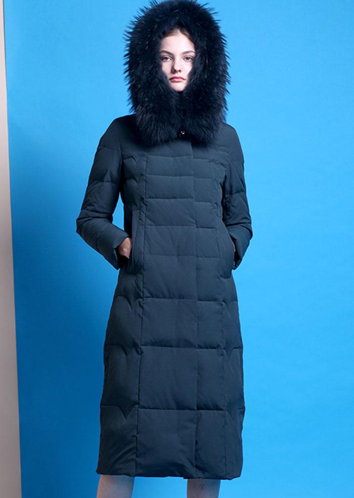 北京厂家女式羽绒服批发定制白鸭绒羽绒服