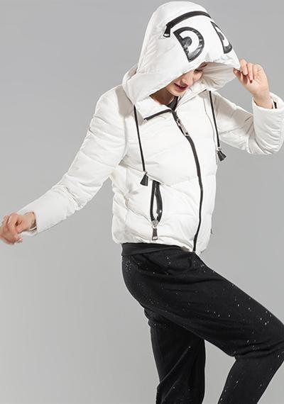 威伦蒂2016新款休闲短款羽绒服
